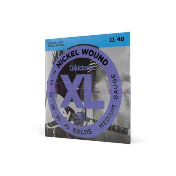 Daddario EXL115 Senar Gitar Nickel Wound