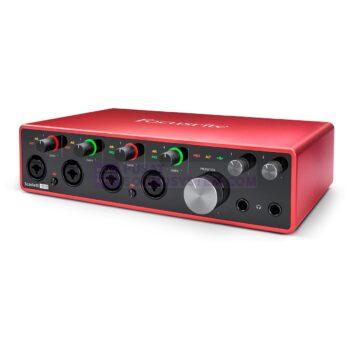 Focusrite Scarlett 18i8 18×8 USB Audio Interface (3rd G...
