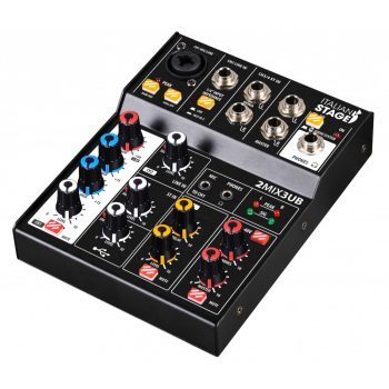 Italian Stage IS 2MIX3UB Mixer Analog 3 Channel