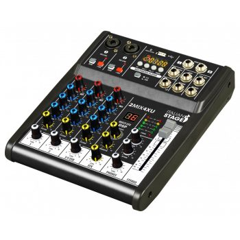 Italian Stage IS 2MIX4XU Mixer Analog 4 Channel