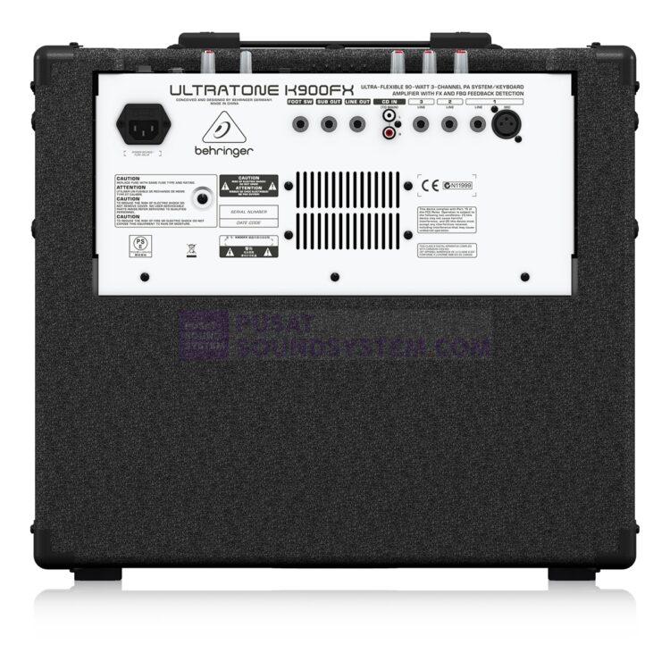Behringer Ultratone K900FX Ampli Keyboard 12″ 90W
