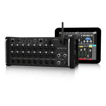 Midas MR18 18-channel Tablet-controlled Digital Mixer
