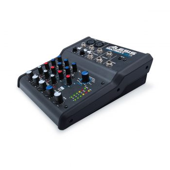 Alesis MultiMix 4 USB FX 4-Channel Mixer with Effects &...