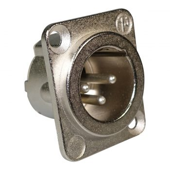 Neutrik NC3MD-LX Konektor Chassis XLR Male 3 Pin