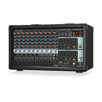 Behringer Europower PMP2000D Power Mixer 14-Channel 2000W