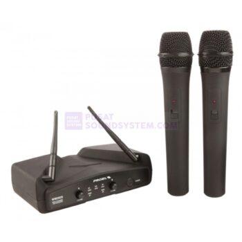 Proel WM202DM Mic Vokal Wireless Dual Handheld