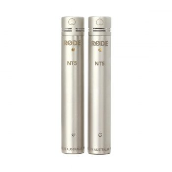 Rode NT5 Matched Pair Compact Condenser Microphones