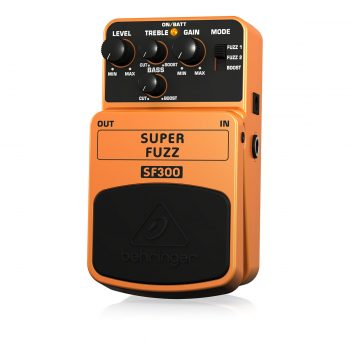 Behringer SF300 Super Fuzz Distortion Pedal