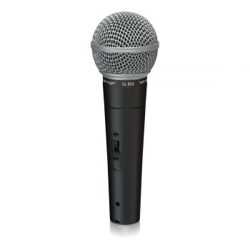Behringer SL 85S Dynamic Cardioid Handheld Microphone with O...
