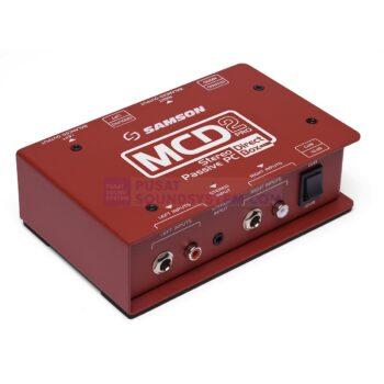 Samson MCD2 Pro 2-channel Stereo Passive PC Direct Box
