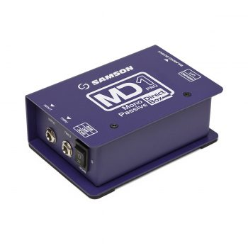 Samson MD1PRO Pro 1-channel Passive Instrument Direct Box