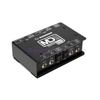 Samson MD2 Pro 2-channel Stereo Passive Instrument Direct Bo...