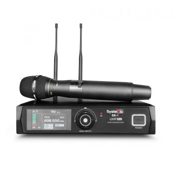 Systemic SR1/SH1D Mic Vokal Wireless Single Handheld
