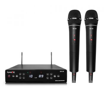Systemic SR20/SH20D Mic Vokal Wireless Dual Handheld