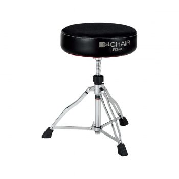 TAMA HT430BC 1st Chair Round Rider Trio Cloth Top Drum Thron...