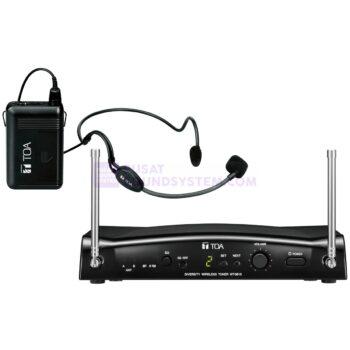 TOA WS-5325H Mic Headset Wireless Condenser
