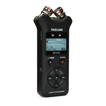 Tascam DR-07X Stereo Handheld Recorder