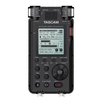 Tascam DR-100MKIII 2-Input / 2-Track Portable Audio Recorder...