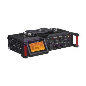 Tascam DR-70D 4-track Portable Recorder for DSLR Video Produ...