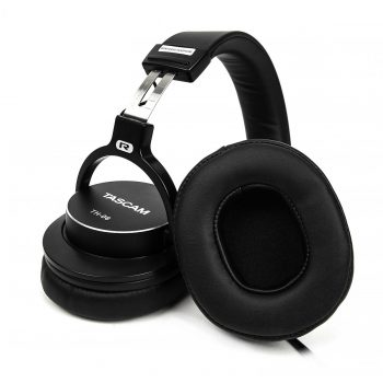 Tascam TH-06 Closed Back Bass XL Monitoring Headphones