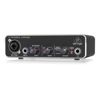 Behringer U-Phoria UMC22 2×2 USB Audio Interface