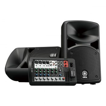 Yamaha STAGEPAS 400BT Speaker Portable PA System 8-Inch