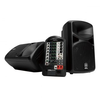 Yamaha STAGEPAS 400i Portable Speaker System 8-Inch