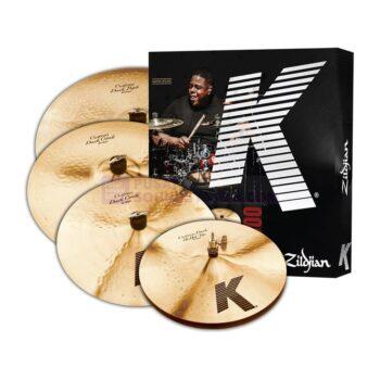 Zildjian KCD900 K Custom Dark 4-Piece Cymbal Box Set