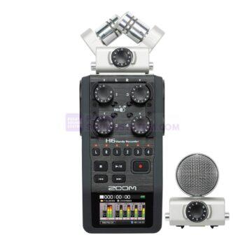 Zoom H6 Perekam Suara Handy Portable 6-Input