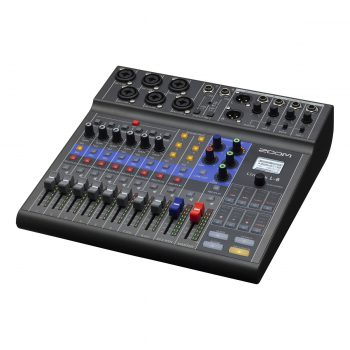 Zoom LiveTrak L-8 Portable 8-Channel Digital Mixer