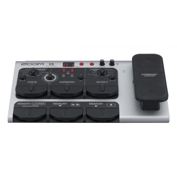 Zoom V6 Pedal Effects Vocal Processor