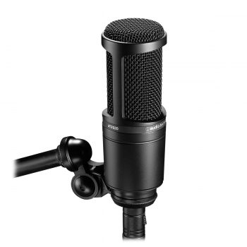 Audio Technica AT2020 Mic Recording Condenser Cardioid