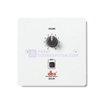 dbx ZC2EU Wall-Mounted Zone Volume Controller