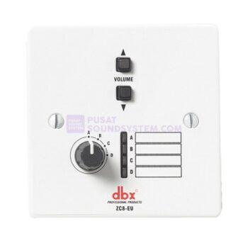 dbx ZC8 EU Wall-Mounted Zone Volume Controller