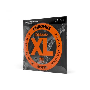 Daddario ECG26 XL Chromes Flatwound Electric Strings Medium