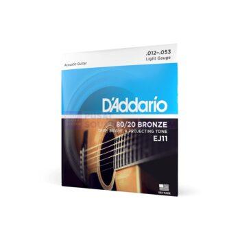 DADDARIO EJ-11 Senar Gitar Akustik Bronze 80/20
