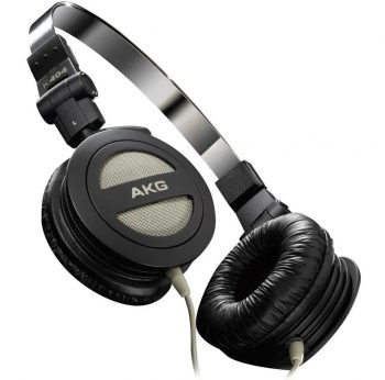 AKG K404 Foldable Mini On Ear Headphone