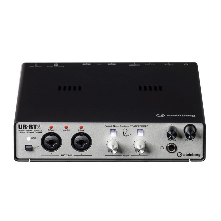 Steinberg UR RT2 Soundcard Recording USB 2 Channel